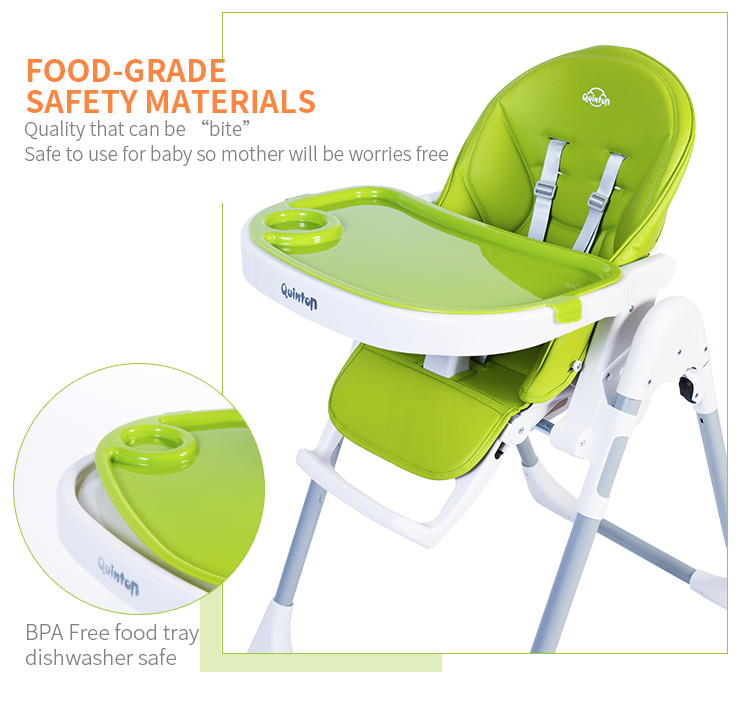 Baby High Chair Foog-Grade Safety Materials