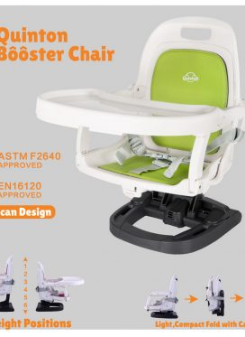 Quinton Green Booster Chair