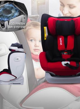 Quinton Max Air Safety Car Seat
