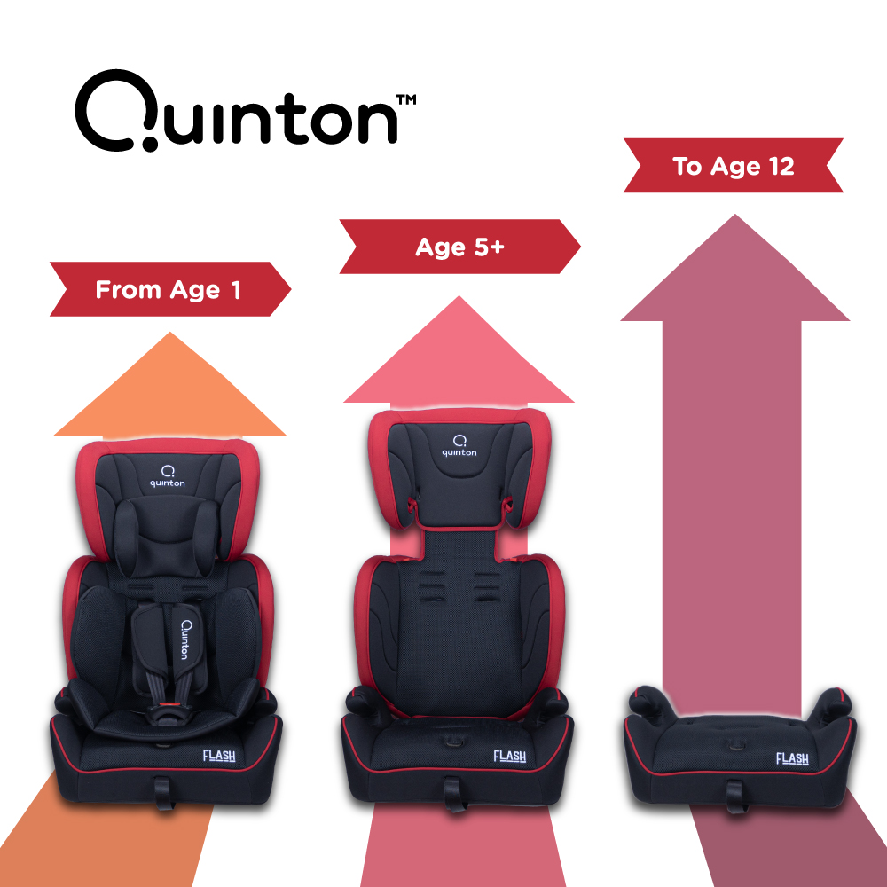 Quinton Flash Booster Seat with 3 stage