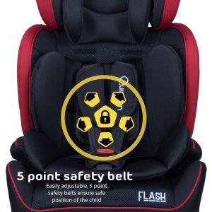 Quinton Flash 5-point-harness