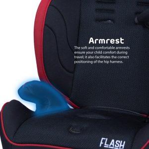 Quinton Flash armrest