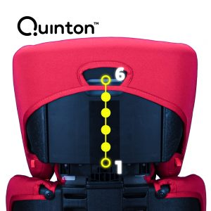 Quinton Flash headrest adjustable