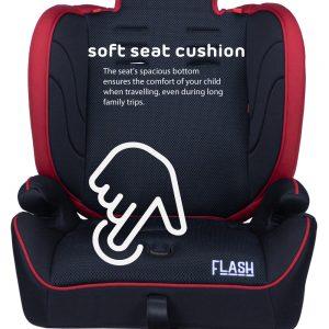 Quinton Flash soft-seat-cushion