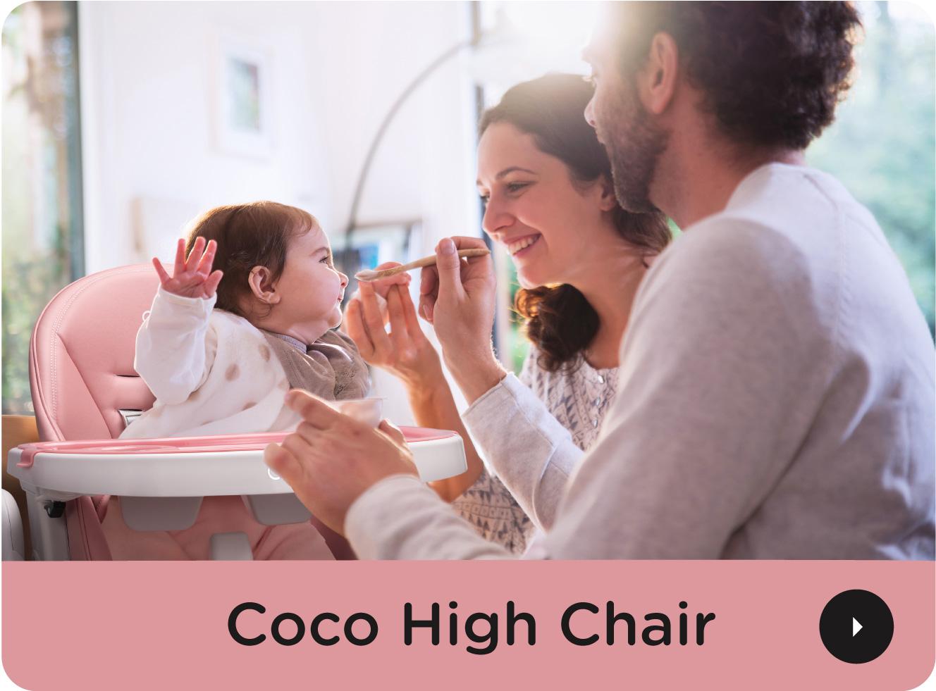 Quinton Coco High Chair